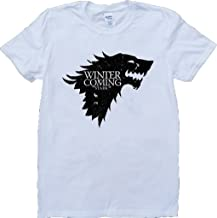 Game of Thrones House Stark Winter is Coming Short Sleeve Custom Made T-Shirt