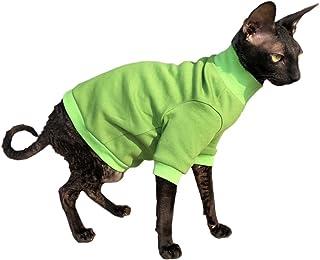 Kotomoda Ropa para Gatos Jersey de algodón Lime (L)
