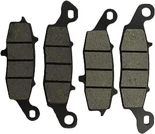 SYUU Motorcycle Replacemen Front Rear Ceramic Brake Pads Brakes for Kawasaki ER 650 ER-6n 2009-2014 EX 650 R Ninja 2006-2014 KLE 650 2007-2016 FA229F FA231F FA192R