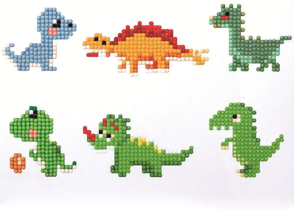 Seacity free shipping Diamond Painting Kits for Dino Kids Mosaic Stickers Wholesale DIY