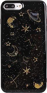 Funda iPhone 7 Plus Carcasa iPhone 8 Plus Gel Suave Silicona Protectora Asnlove Anti-Arañazos TPU Sparkle Brillar Glitte...