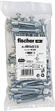 fischer HM 6x52 S - metalen metalen pluggen met schroef voor het bevestigen van foto's, gordijnrails in plaatbouwmateriale...