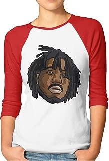 Mozzy Shirt Casual 3/4 Sleeve Raglan Striped T Shirt Baseball Tunic Tops Blouse for Women