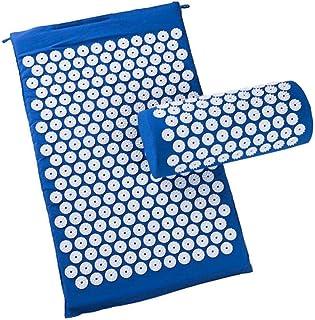 Vanpower Acupressure Massager Cushion Relieve Stress Pad Spike Yoga Mat with Pillow