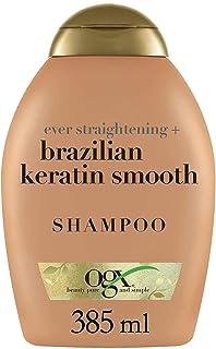 OGX Champú Keratina Brasileña Cabellos Ondulados o Rizados 385 ml