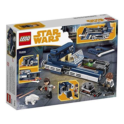 Han Solo Landspeeder LEGO Star Wars 75209 - 345 Pièces - 4