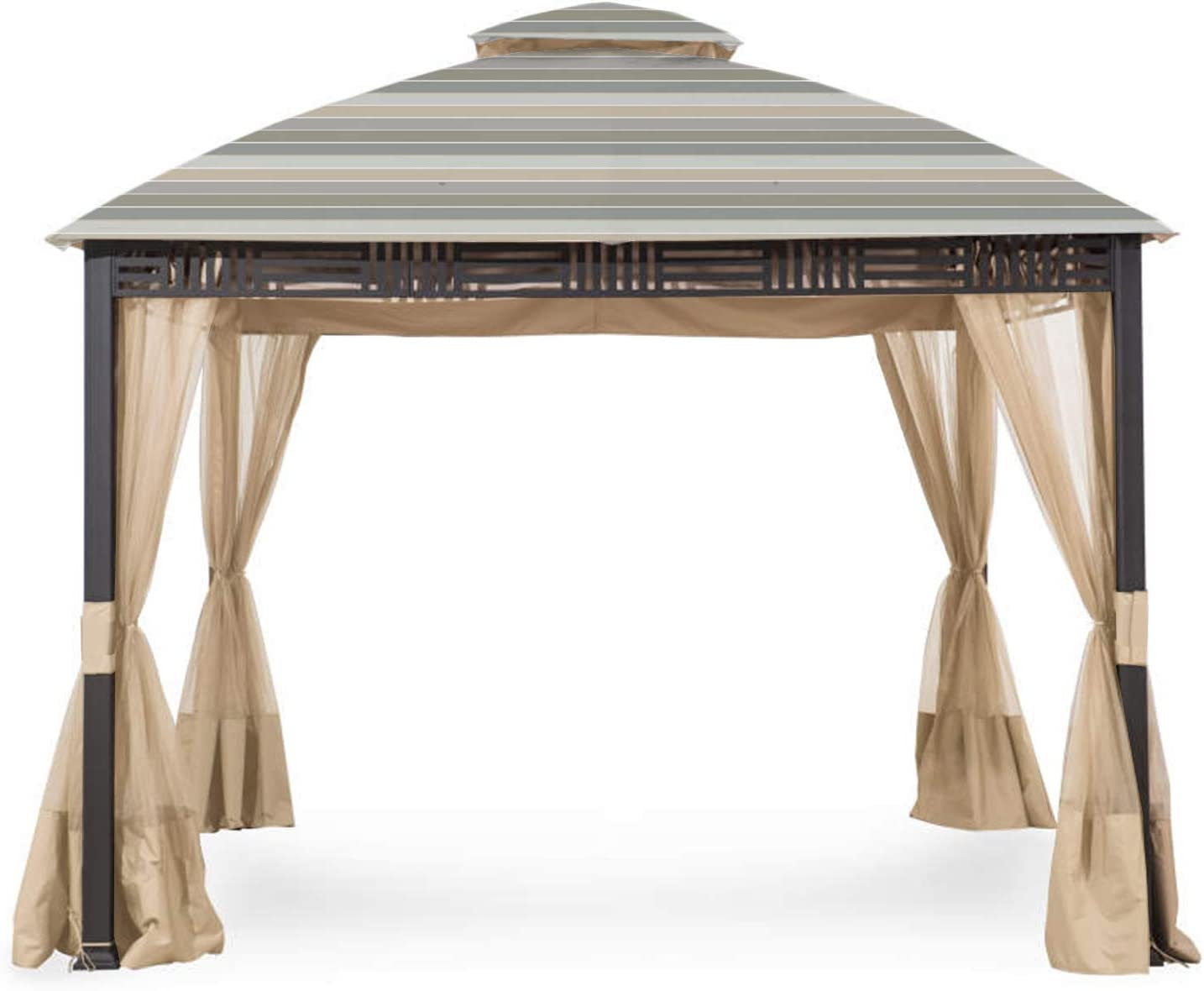 Garden Winds Replacement Fresno Mall Canopy Top for Westbrook G Cover 2021 spring and summer new Gazebo