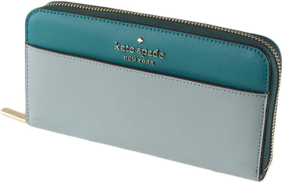 Kate Spade NY Charlotte Mall Staci Bicolor Leather Continental Large Max 88% OFF Colorblock