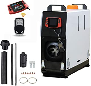 Tseipoaoi 12V 5kw diesel air heater Car air fuel heater All in one machine Truck Parking heater 10L Tank Remote Control LCD Display For Truck,Boat,Car,Caravans,workshop