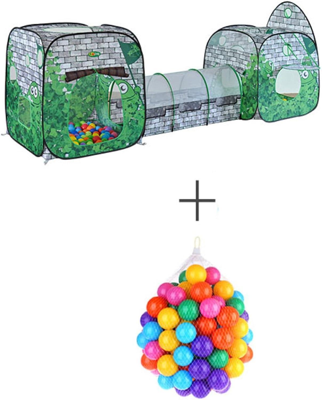 LIAN Kinder Spielen Zelt Baby Early Learning Crawl Tunnel zusammenklappbare Spielzeug Zimmer (Grüne Verpackung von 1)B07DKC39S6Maßstab ist der Grundstein, Qualität ist Säulenbalken, Preis ist Leiter  | Einfach zu spielen, freies Leben