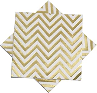 Best white and gold dinner napkins Reviews