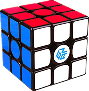 LiangCuber GAN 356 Air SM 3x3 Magnetic Speed Cube Gans 356 Air S Magnetic 3x3x3 Magic Cube GAN 356air S M Black