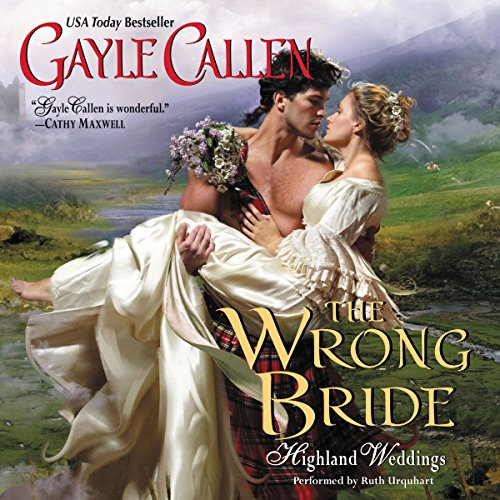 The Wrong Bride audiobook cover art