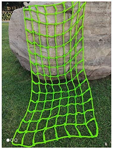 Krabbeln, Outdoor Klettern Kinder Klettern Spielplatz Sicherheitsnetz Schaukel Leiter Nylon Seil Baumhaus Netz, verwendet für Ladung Anhänger schwere Deck Net Zaun Dekoration Netz