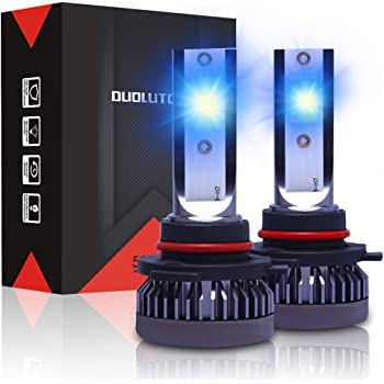 Amazon Com Fanteli 9005 Hb3 10000k 12000k Deep Blue Led Headlight Bulbs All In One Conversion High Beam Kit 72w 8000lm 9145 9140 H10 Fog Driving Lights Extremely Bright Automotive