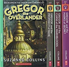 The Underland Chronicles Set, Books 1-4: Gregor the Overlander, Gregor and the Prophecy of Bane, Gregor and the Curse of t...