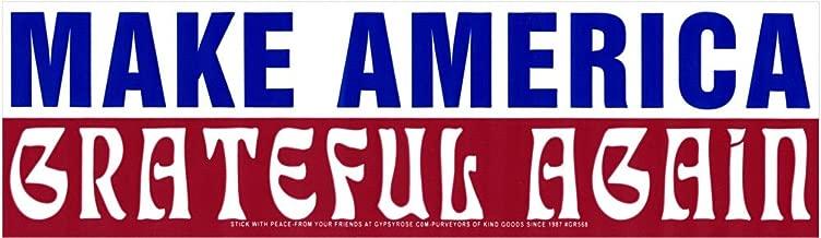 Gypsy Rose Make America Grateful Again - Magnetic Bumper Sticker/Decal Magnet (10.5