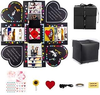 Springcorner DIY Explosion Box, DIY Surprise Box, DIY Explosion Gift Box, DIY Photo Album Box, Gift for Christmas Birthday Wedding Anniversaries Valentine's Day