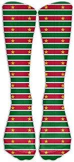 Originality Suriname Flag Compression Socks Football Socks Sports Stockings Long Socks