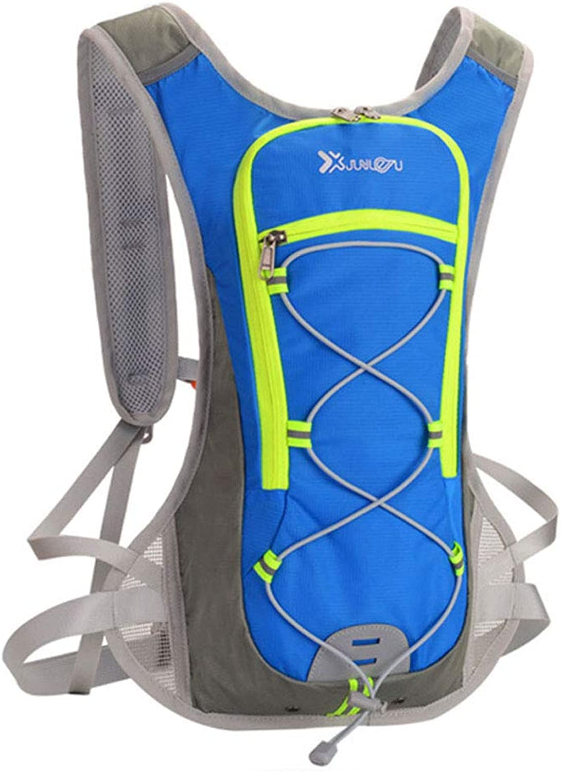 Ultra-Light Sports Outdoor Cycling Backpack Cross-Country Running Water Bag Backpack for Men & Women,bluee,32  8  47cm