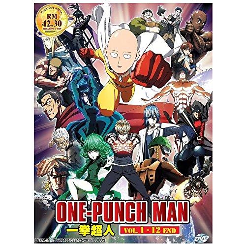 One Punch Man (TV 1 - 12 End) 2 Discs DVD Japan Japanese Anime / English Subtitles