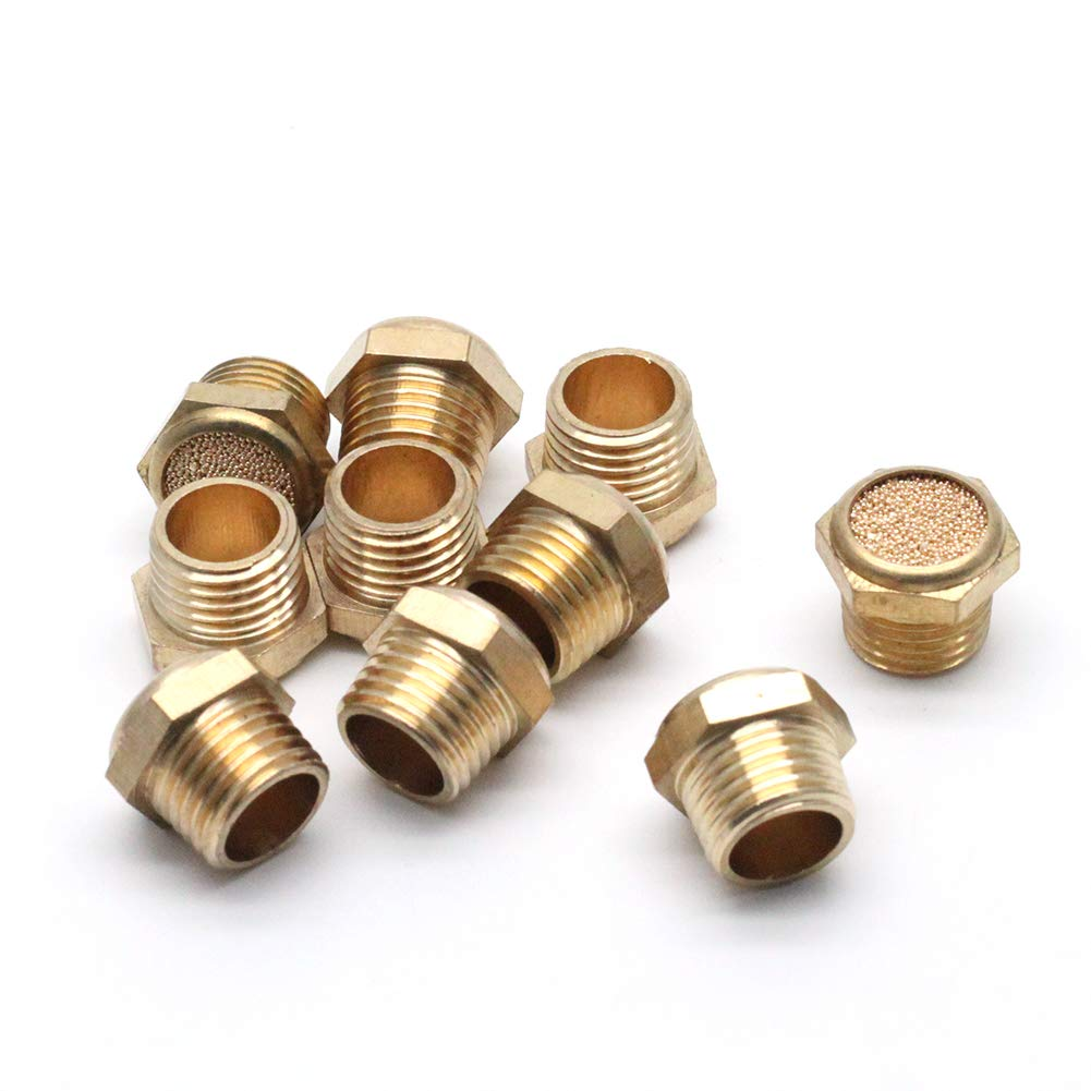 LC LICTOP Brass Sintered Bronze Flat Pneumatic online shop Special Campaign Muf Vent Breather