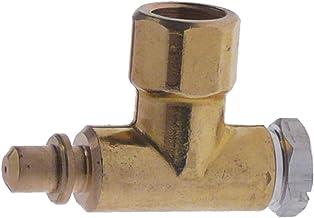 Parte inferior de quemador piloto PRO-GAS serie 100, boquilla ø 0,2mm