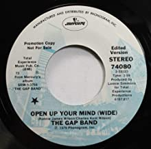 THE GAP BAND 45 RPM OPEN UP YOUR MIND (WIDE) / OPEN UP YOUR MIND (WIDE)