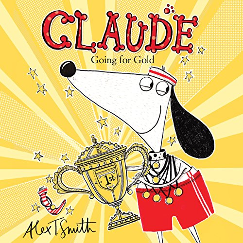 Claude Going for Gold! audiobook cover art