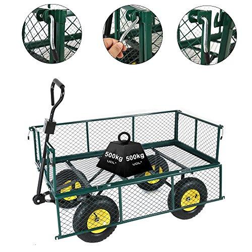 professionnel comparateur Chariot à main Anael Pandamoto Chariots de transport pour maisons, jardins, entrepôts, fermes… choix