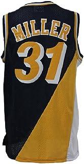 451d8d6f6de Men s  31 Reggie Jersey Basketball Jerseys Miller Retro Jersey