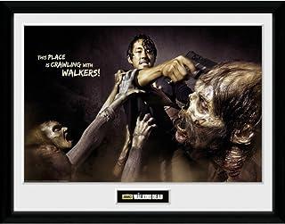 WALKING DEAD ウォーキングデッド (最終シーズン米8月放送) - Glenn Attack/インテリア額 【公式/オフィシャル】
