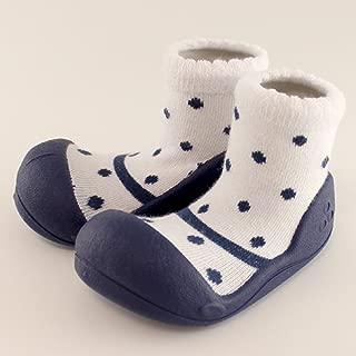 ベビーシューズ Baby feet ベビーフィート ラバー底ソックス FORMAL ( 11.5cm , Formal NAVY ネイビー ))