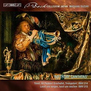 Bach:Birthday Cantatas [Joanne Lunn; Robin Blaze; Makoto Sakurada; Bach Collegium Japan Chorus & Orchestra, Masaaki Suzuki...