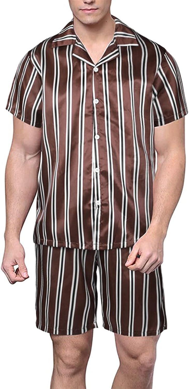 GAOword Men's Short-Sleeved Home Set Wear Pajamas Popular standard Regular dealer
