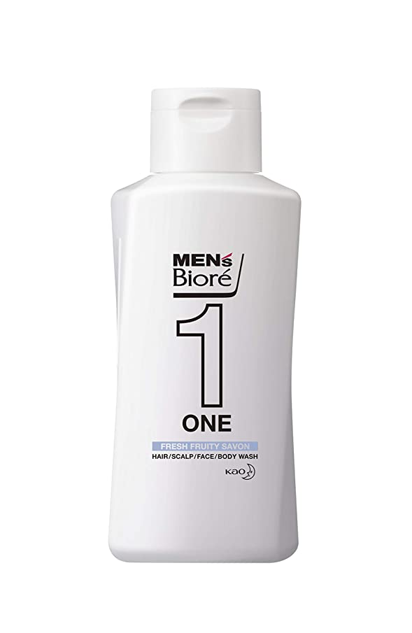 リゾート事業内容役員メンズビオレ ONE オールインワン全身洗浄料 フルーティーサボンの香り レギュラー 200ml