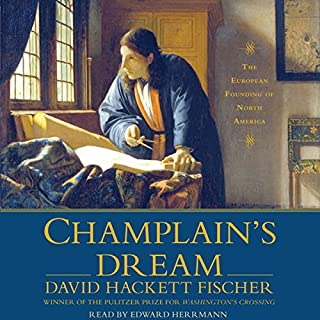 Champlain's Dream audiobook cover art