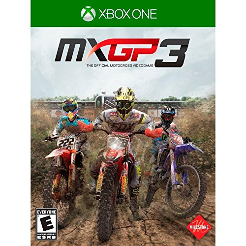 MXGP 3: The Official Motorcross Videgame for Xbox One rated E - Everyone