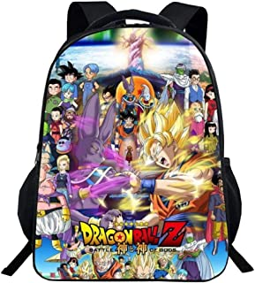 Dragon Ball Anime Goku Impreso Mochila Escolar Infantil Mochila Bolso de Escuela del Estudiante Mochila Informal