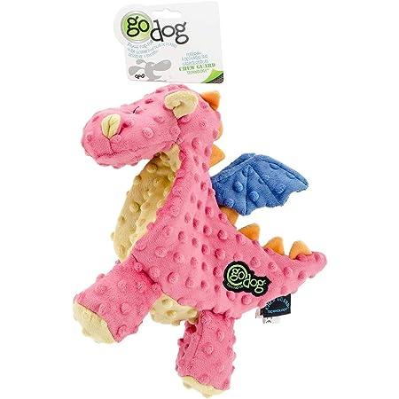 goDog Dragon Dog Toy with Chew