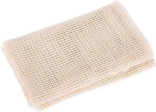 Bartram 蒸し布 綿ふかし布 四角形蒸し器布 饅頭蒸し敷き メッシュ布設計 随意に裁断し 55*60cm