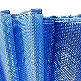 JLXJ Cobertor Solar Piscinas Burbuja Cubierta de la Piscina, Rectangular Solar Térmica Mantas de Calefacción, para Piscina sobre el Suelo, Piscina Inflable, Anti-evaporación (Size : 1m x 2m(3ft×6ft))