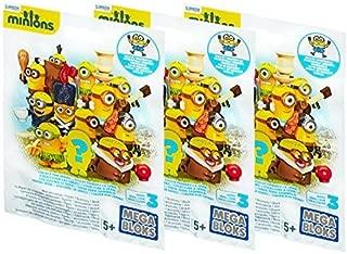 Mega Bloks Minion Mini Figure Blind Pack (3 Pack)