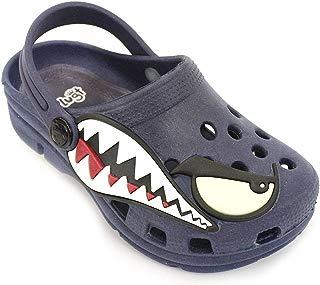 Babuche Plugt Kids Tubarão Bad Shark Marinho
