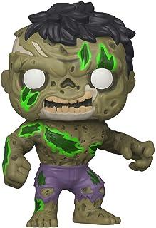 Funko Pop! Marvel: Marvel Zombies - Hulk, Multicolor, (Modelo: 49121)
