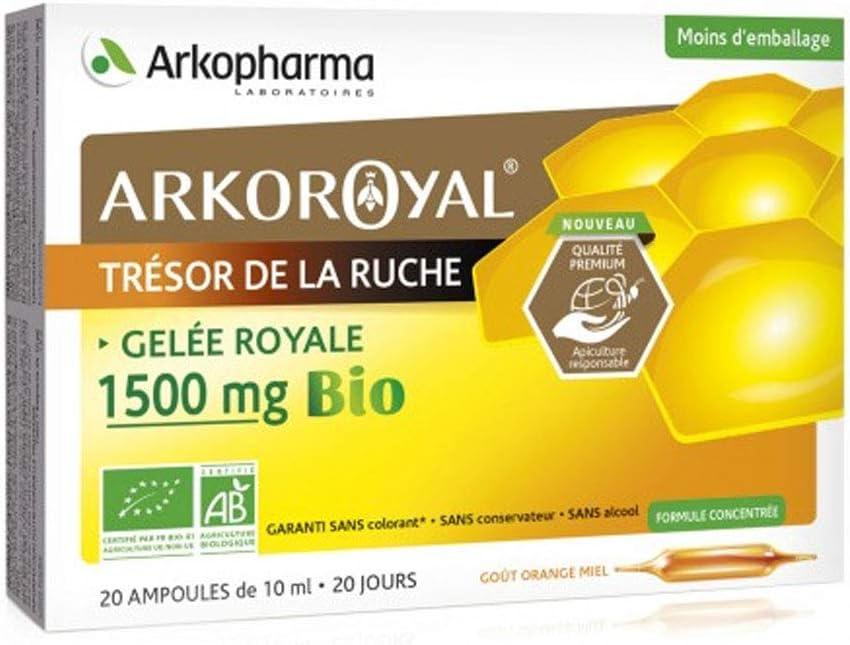 Arkopharma Courier shipping free Royal Jelly 1500Mg shopping Bio Phials 20