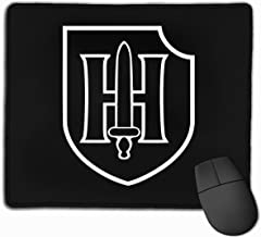 9th SS Panzer Division Mouse Pads Non-Slip Gaming Mouse Pad Mousepad for Working