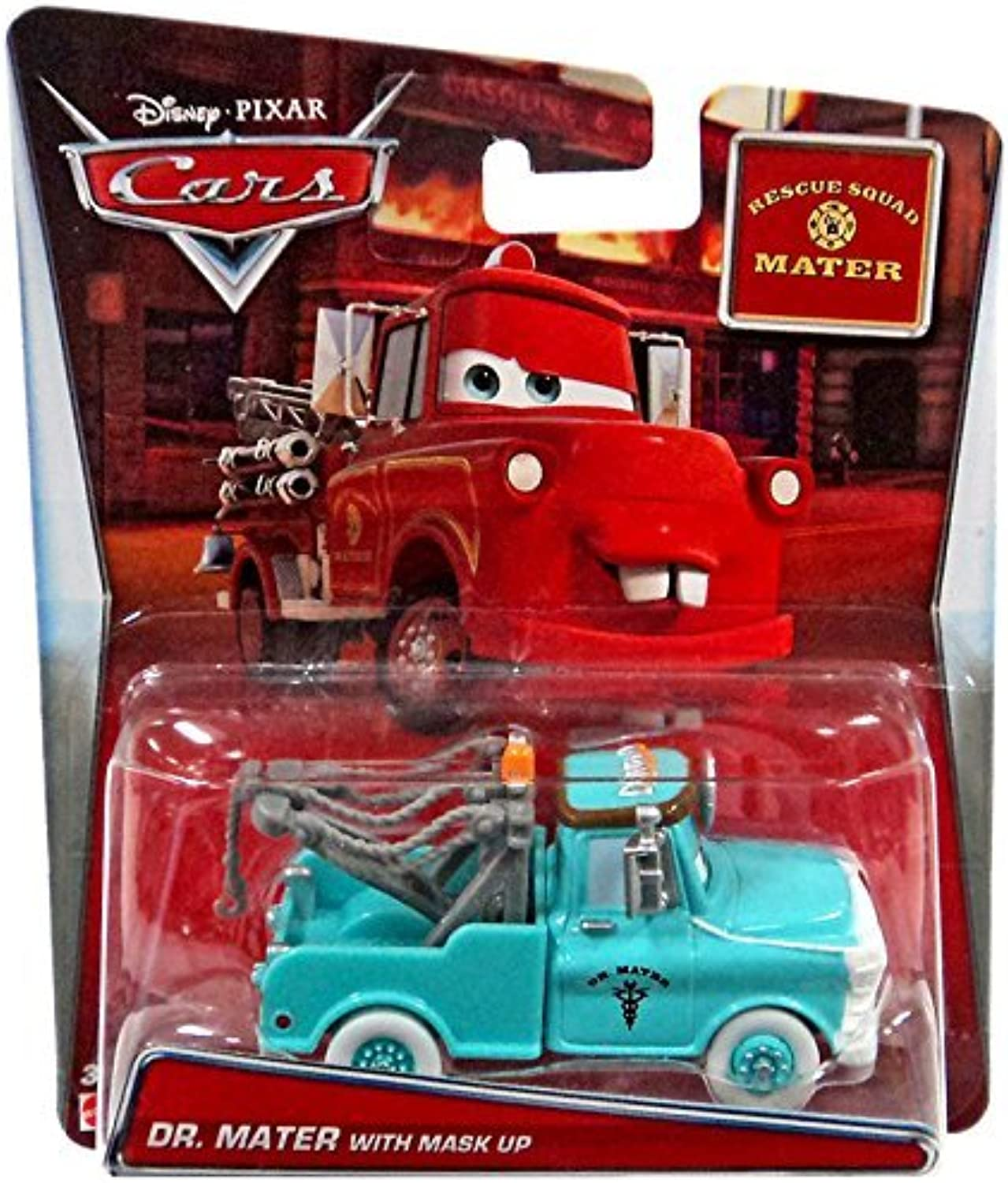 Dr. Mater with Mask Up Rescue Squad Mater by Disney
