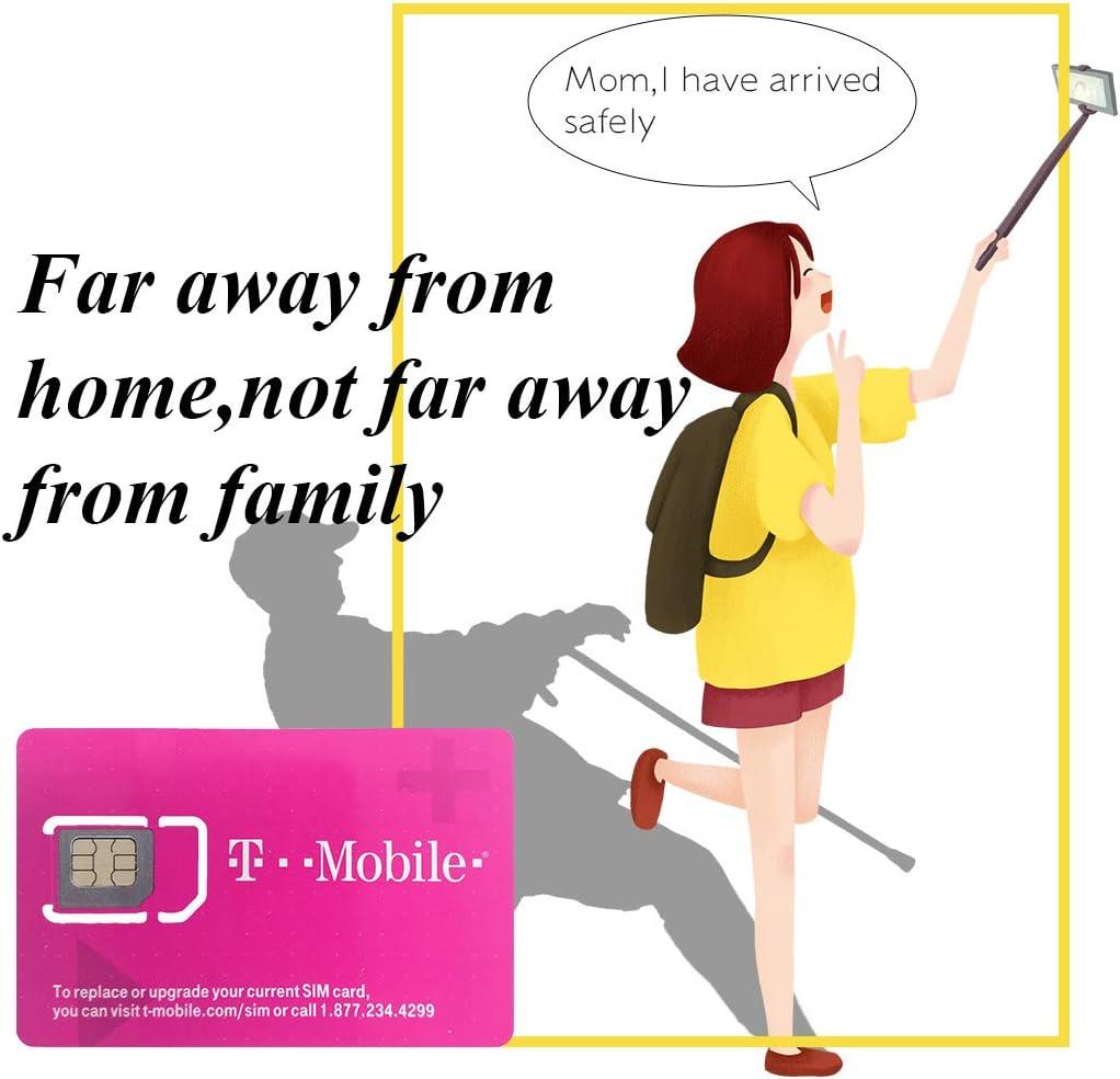 Carte SIM T-Mobile USA 10 Jours T-Mobile Carte SIM US États-Unis Most SIM  Internet Haut Débit/Appels/SMS/illimités Cartes sim High-Tech vieniphone.com