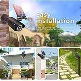 Cámara falsa con panel solar | cámaras de seguridad falsa |...